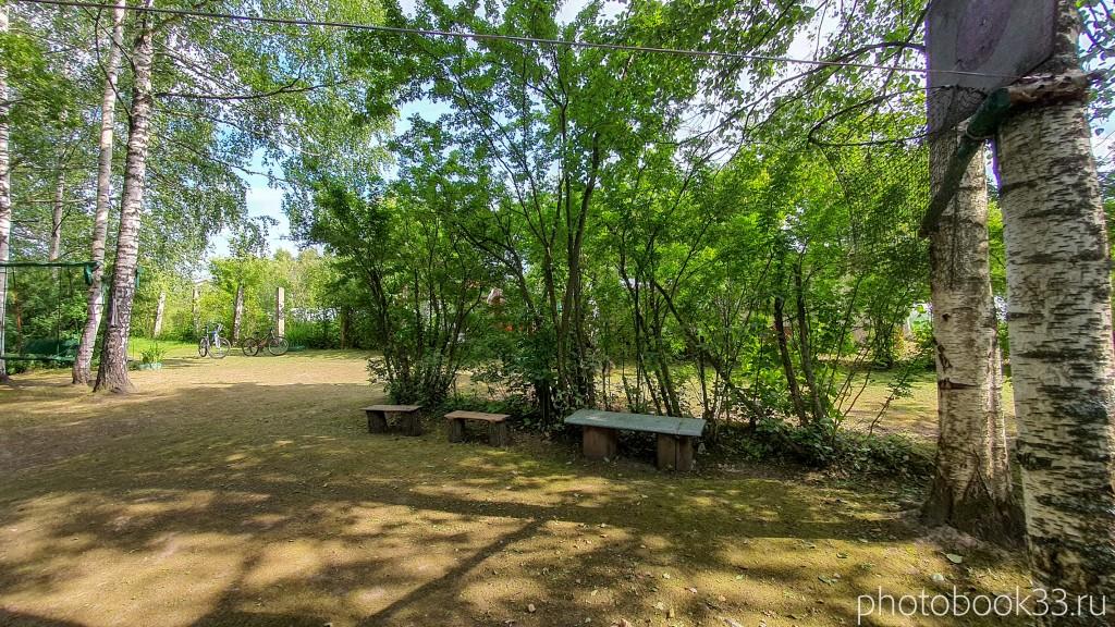 21 Благоустройство в поселке Амосово, Меленковский район