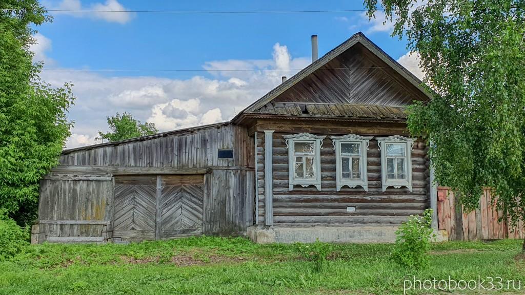 21 Деревянные дома в деревне Высоково, Меленковский район