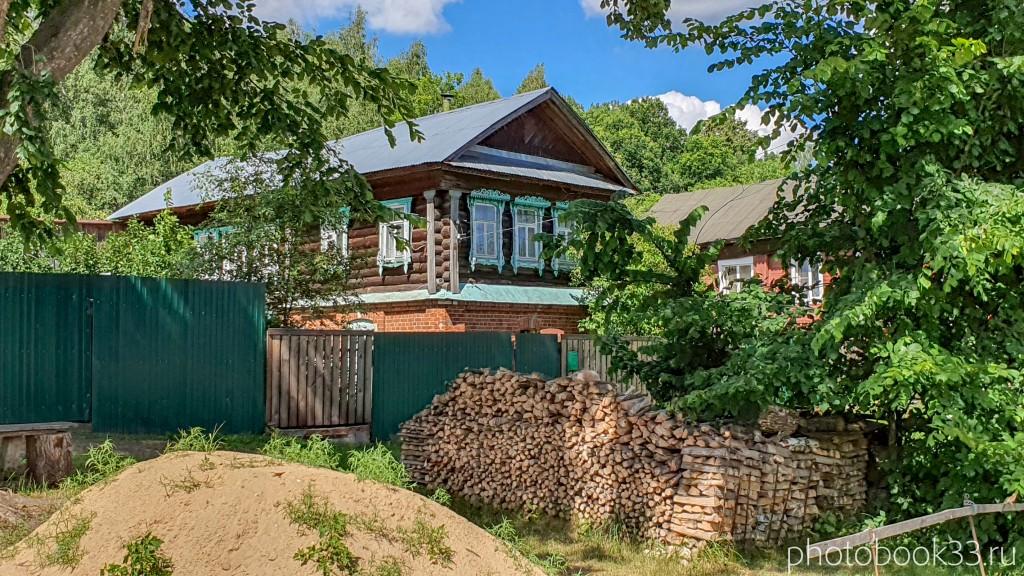 21 Деревянный дом в деревне Верхозерье