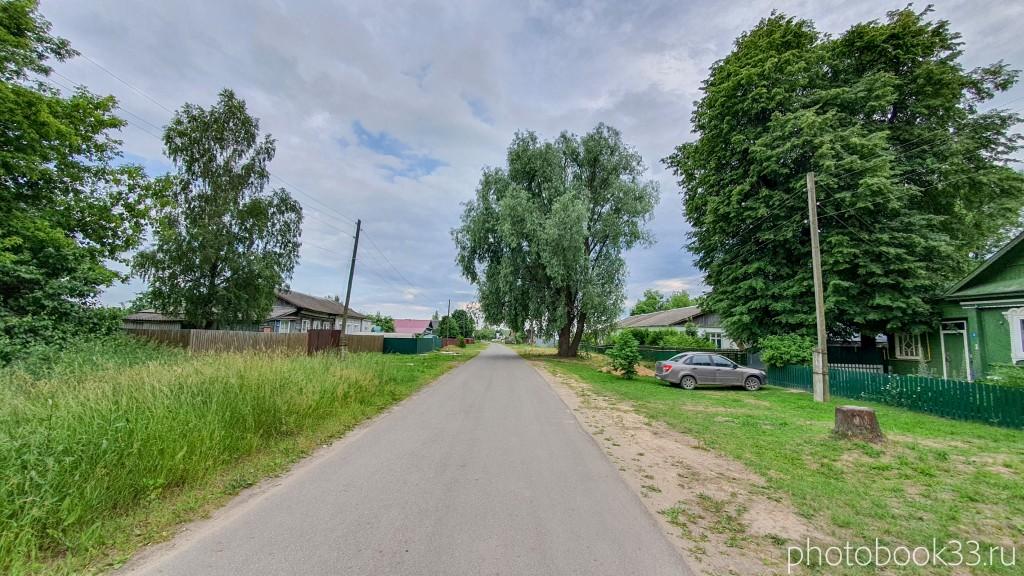 Одна из улиц в селе Папулино