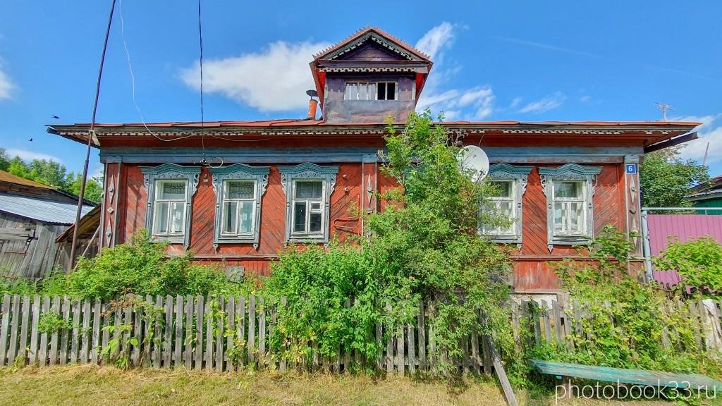 23 Деревянные дома села Урваново, Меленковский район