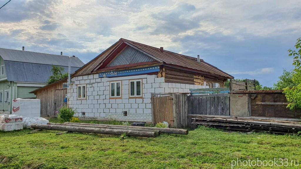 24 Деревянный домик с реконструкцией под кирпичный в д. Рождествено