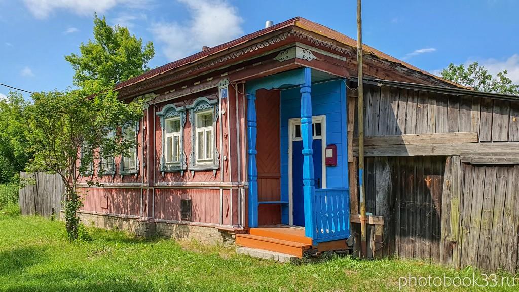 25 Деревянные дома села Урваново, Меленковский район