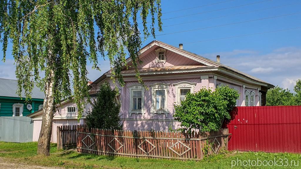 28 Деревянные дома в деревне Высоково, Меленковский район