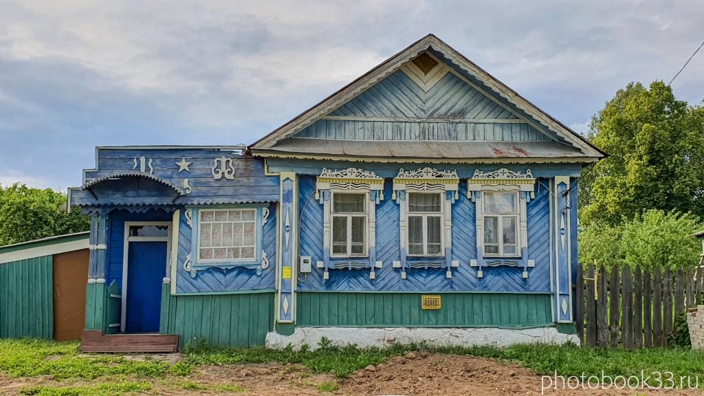 30 Деревянный домик в деревне Рождествено