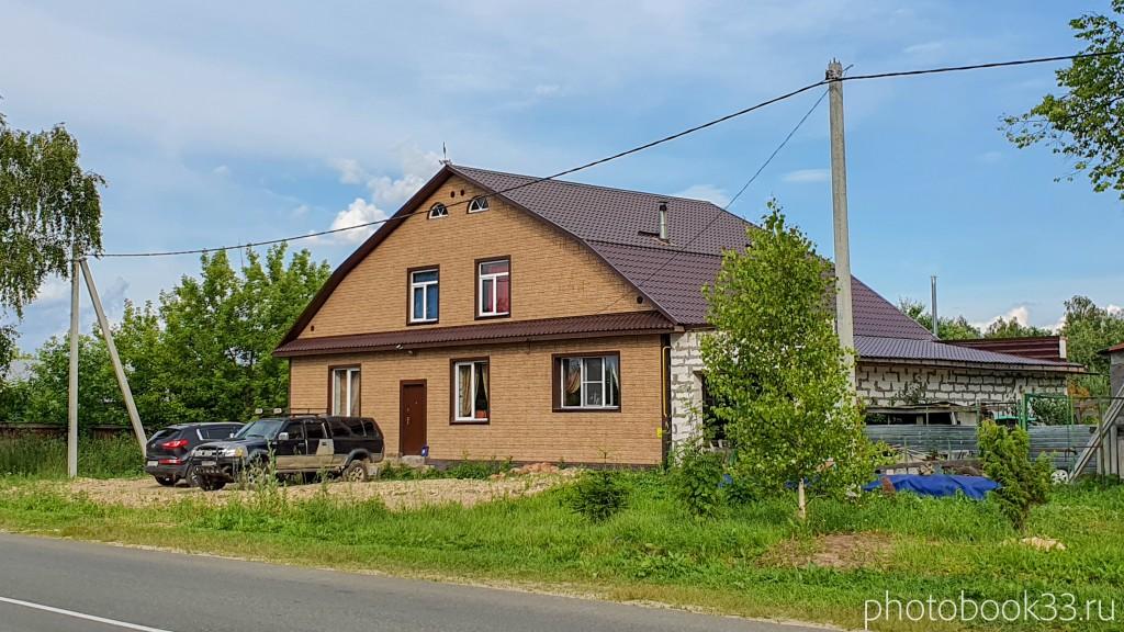 33 Новый дачный дом в деревне Рождествено Меленковского района