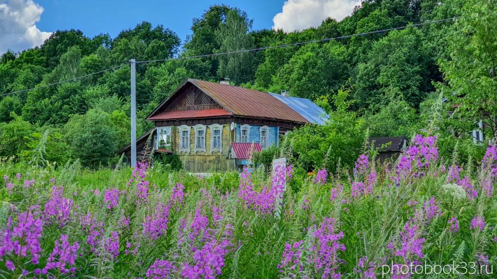 35 Деревянный дом в деревне Верхозерье