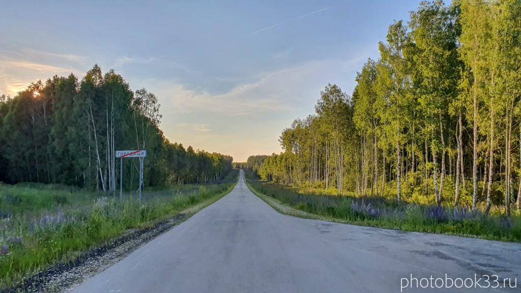 39 Дорога Городищи - Просеницы - Рождествено