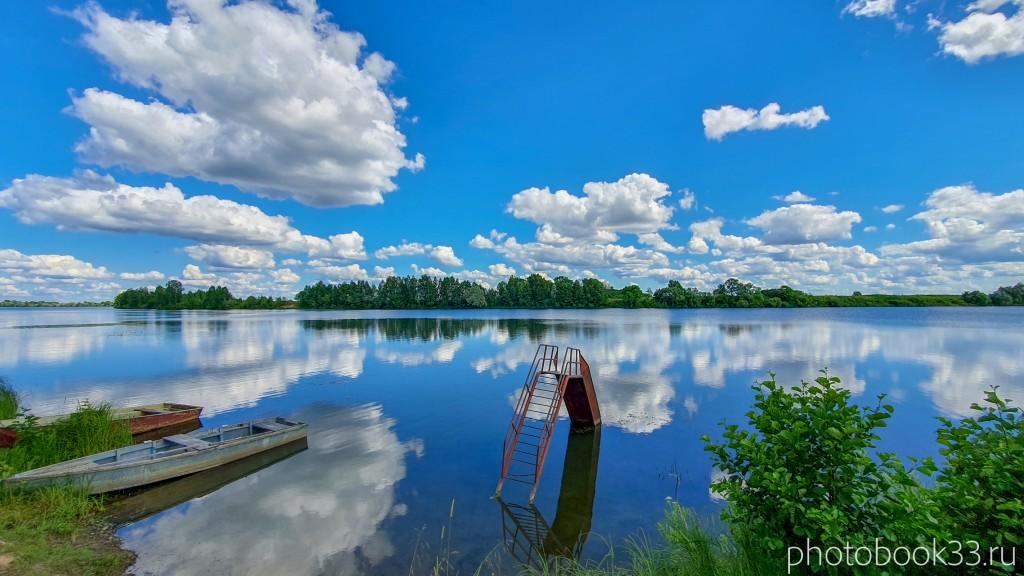 39 Озеро Урвановское в деревне Верхозерье
