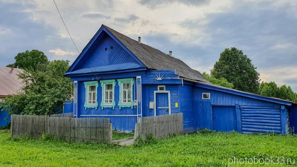 40 Деревянный домик в деревне Рождествено