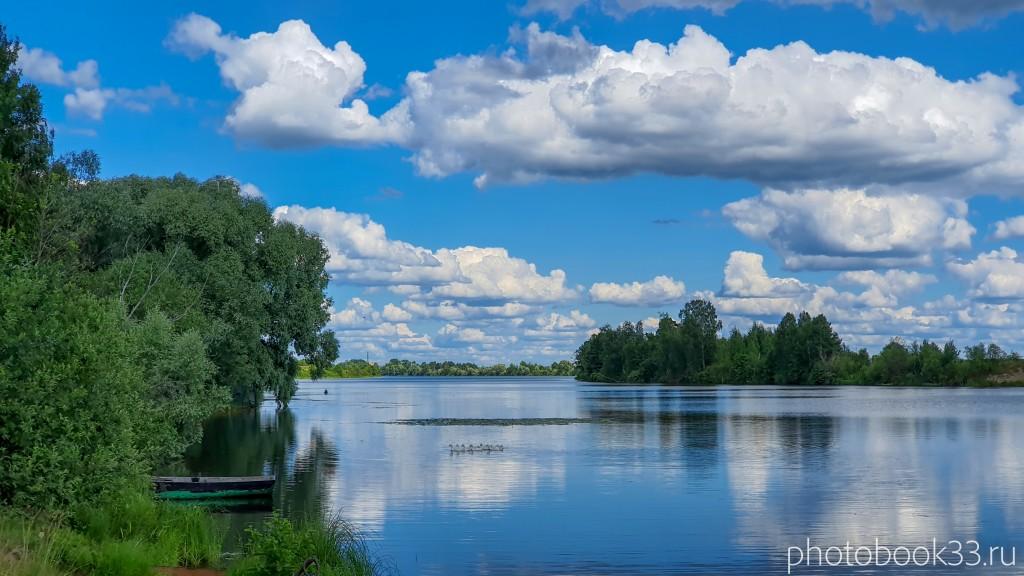 40 Озеро Урвановское в деревне Верхозерье