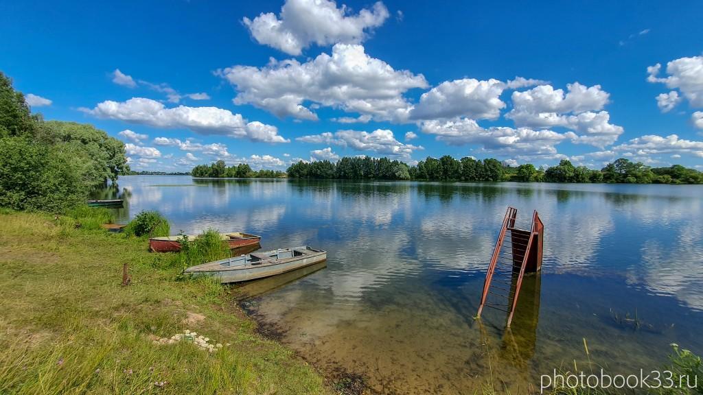 41 Озеро Урвановское в деревне Верхозерье