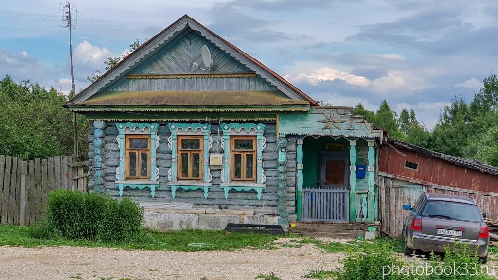 43 Деревянный домик в деревне Рождествено