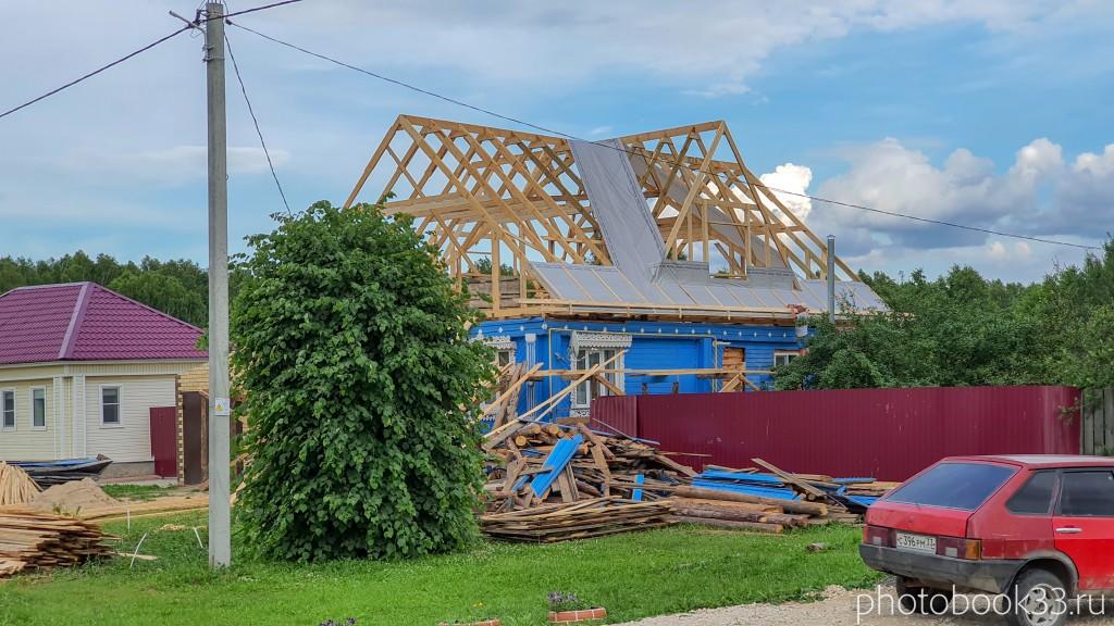 44 Реконструкция дома в деревне Рождествено