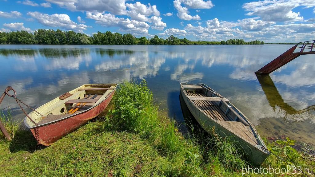 45 Озеро Урвановское в деревне Верхозерье
