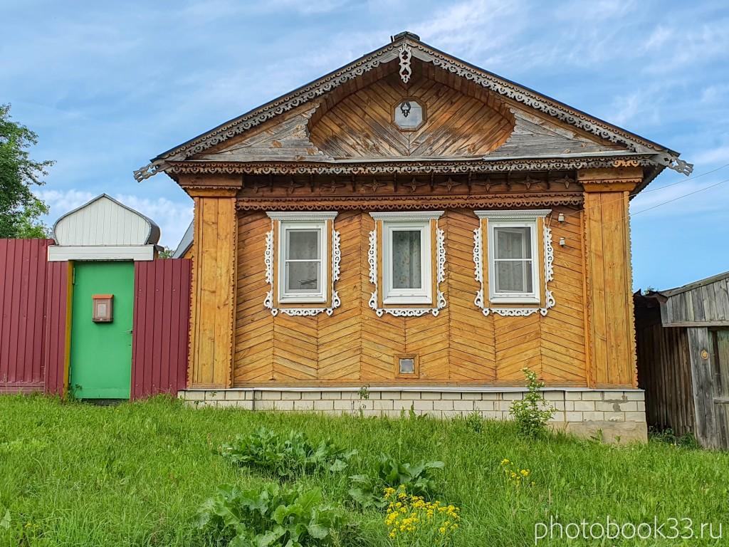 46 Деревянные дома в деревне Усад, Меленковский район