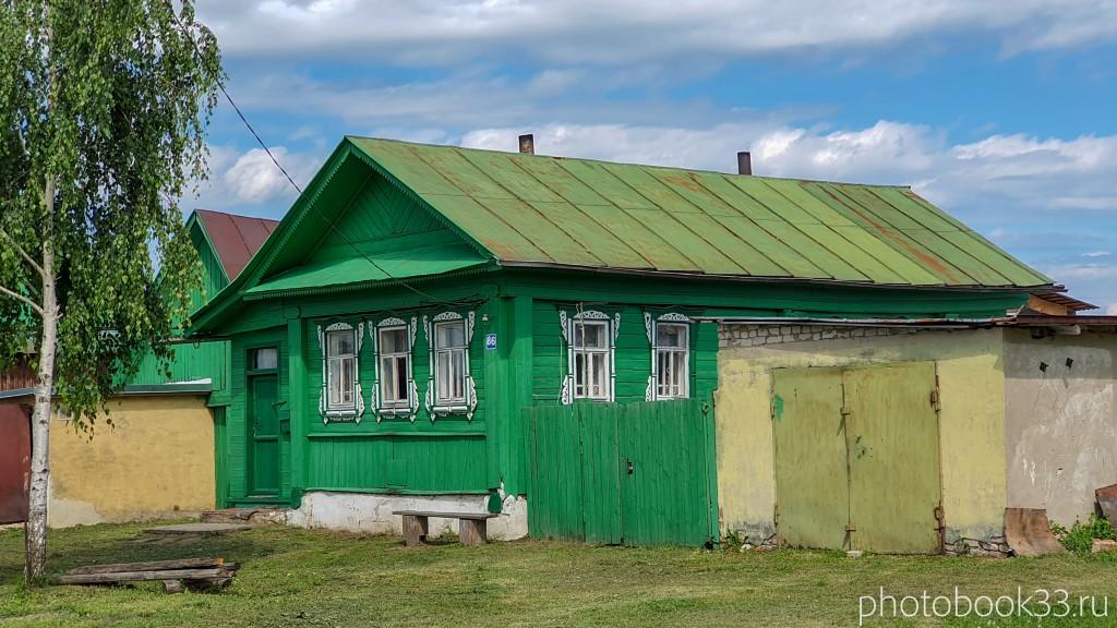 48 Деревянные дома села Урваново, Меленковский район