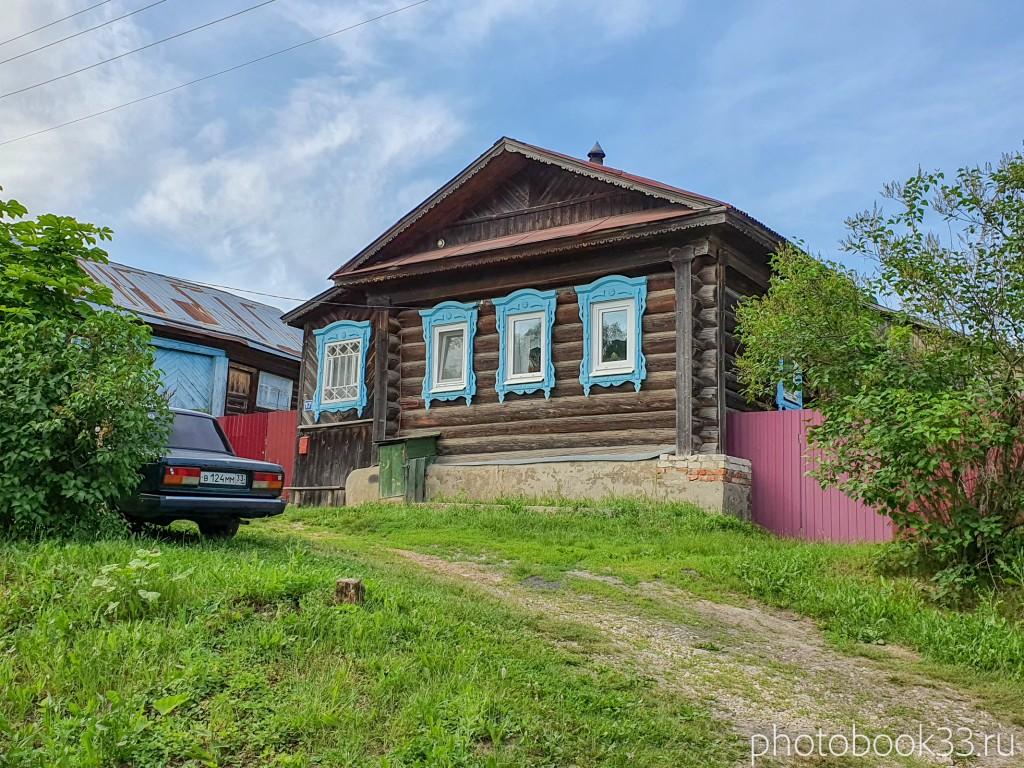 49 Деревянные дома в деревне Усад, Меленковский район