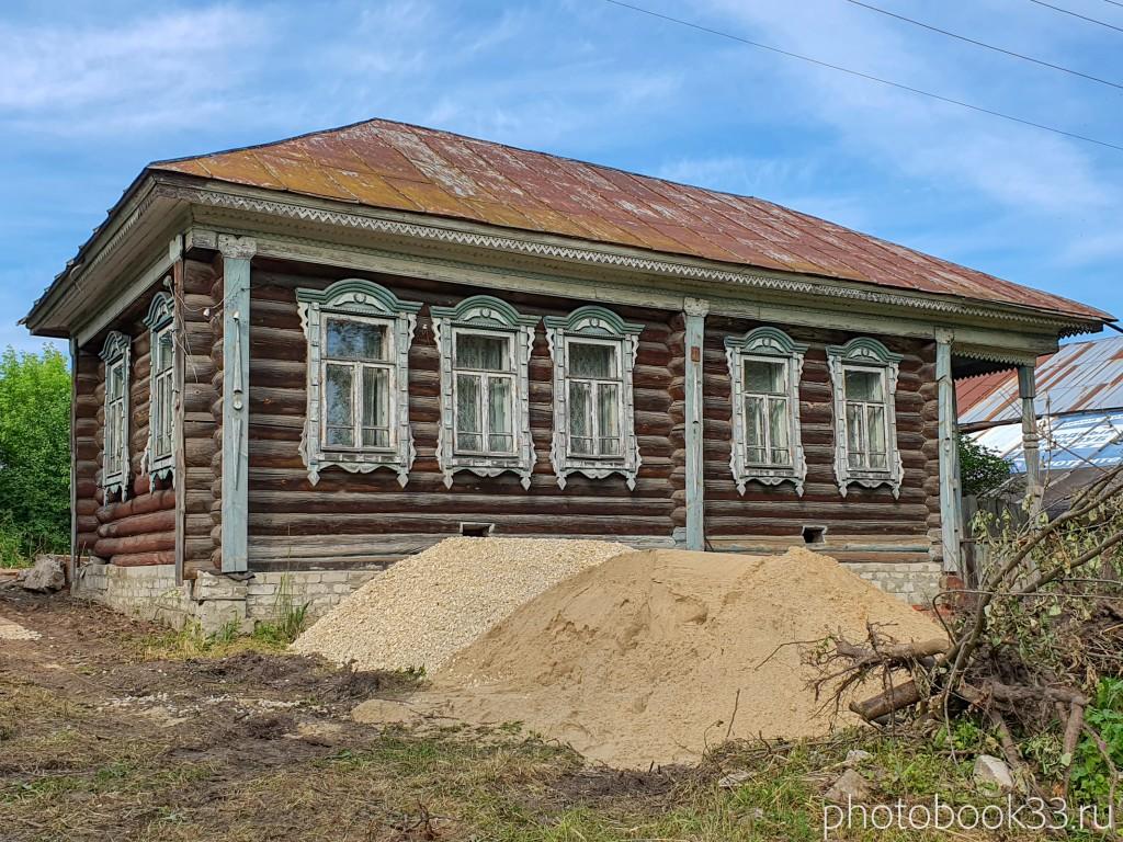 50 Деревянные дома в деревне Усад, Меленковский район
