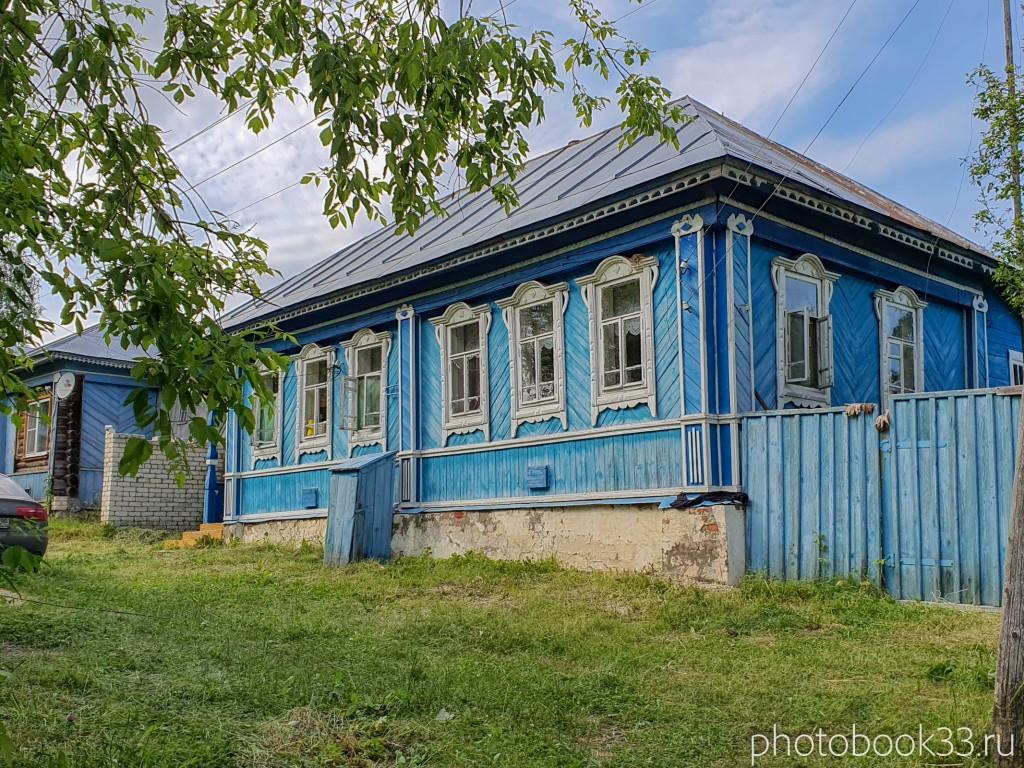 51 Деревянные дома в деревне Усад, Меленковский район