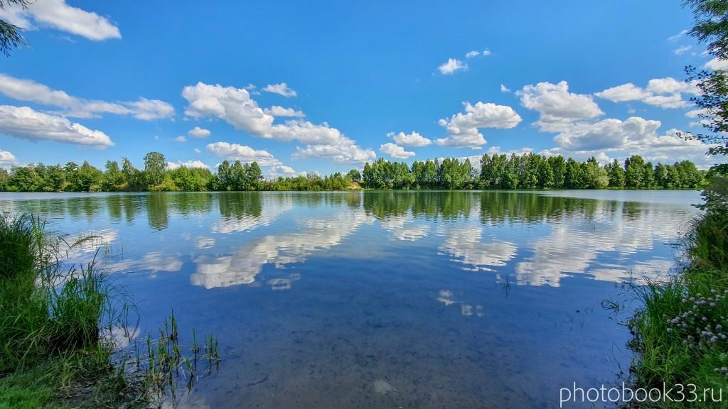 51 Озеро Урвановское в деревне Верхозерье