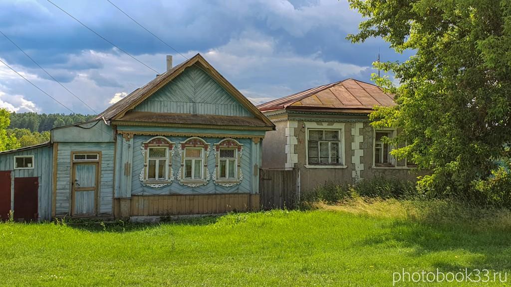 54 Деревянный дом в деревне Просеницы Меленковского района