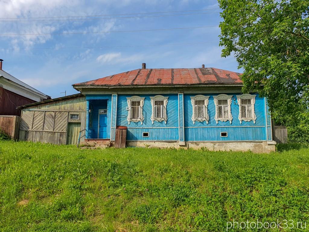58 Деревянные дома в деревне Усад, Меленковский район