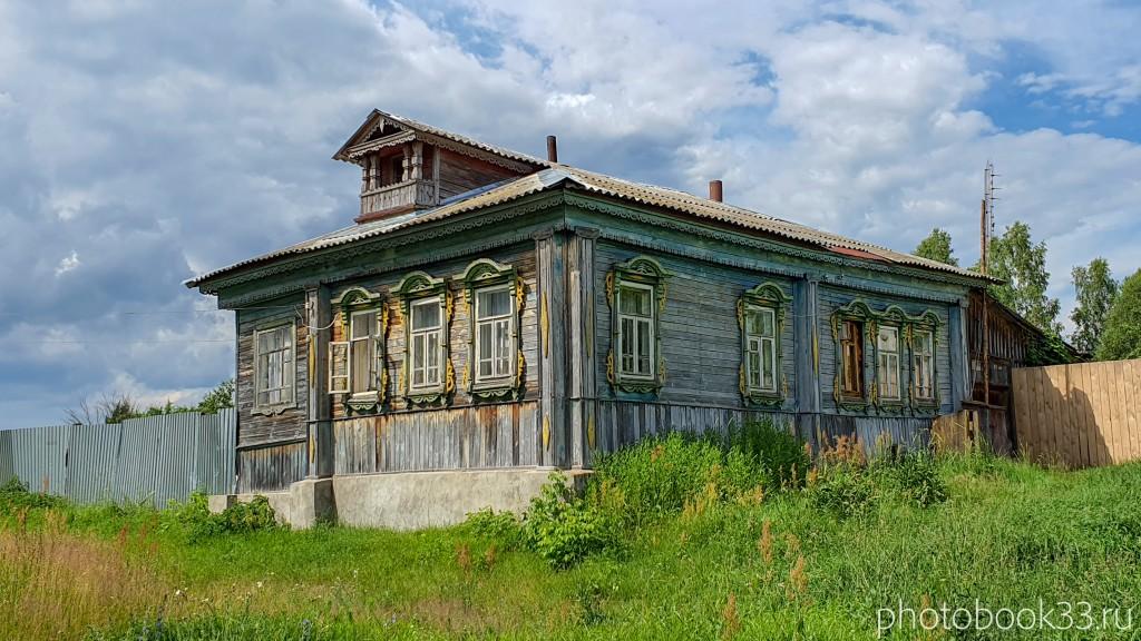 59 Деревянный дом в деревне Просеницы Меленковского района