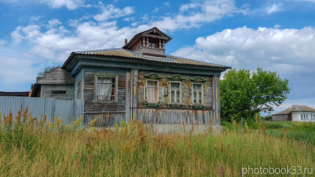 60 Деревянный дом в деревне Просеницы Меленковского района