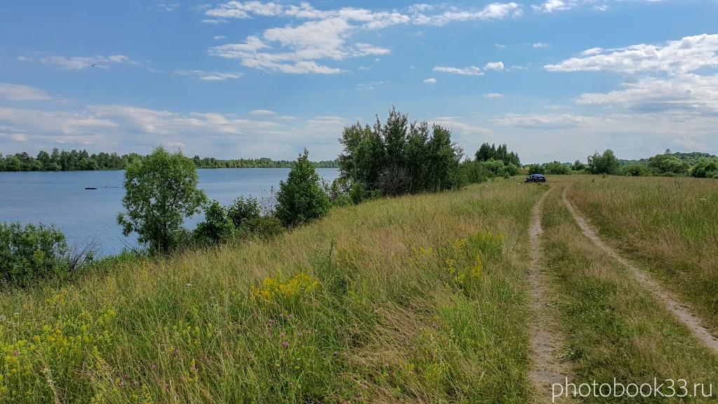 61 Берег Урвановского озера в Урваново