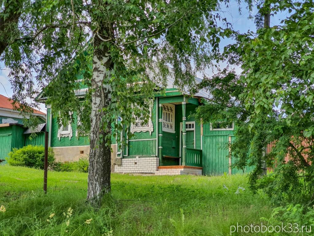 62 Деревянные дома в деревне Усад, Меленковский район