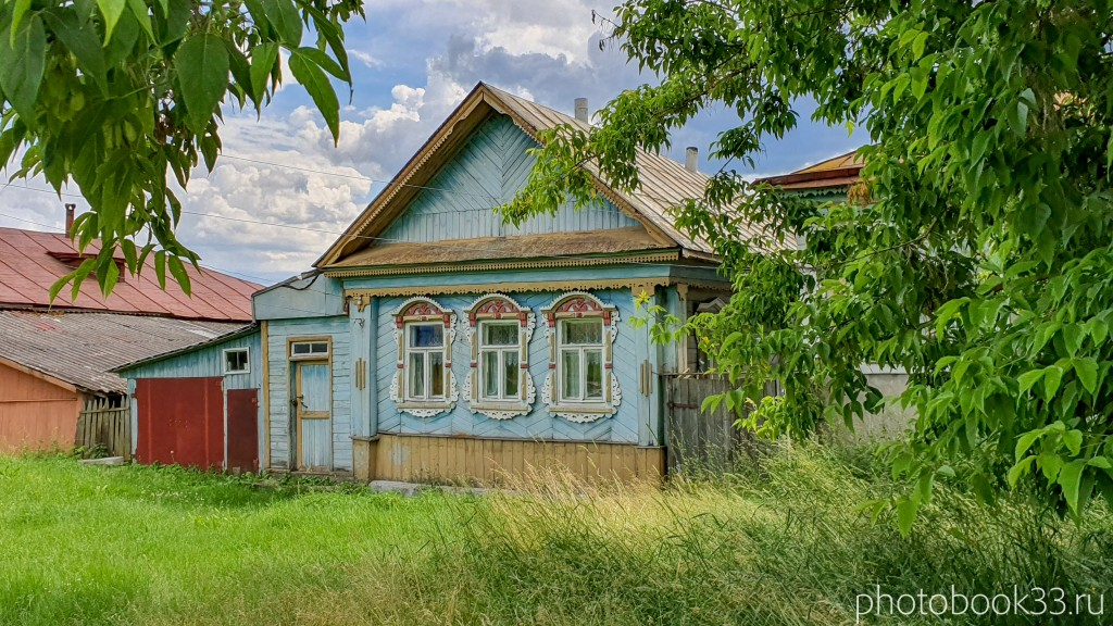 63 Деревянный дом в деревне Просеницы Меленковского района