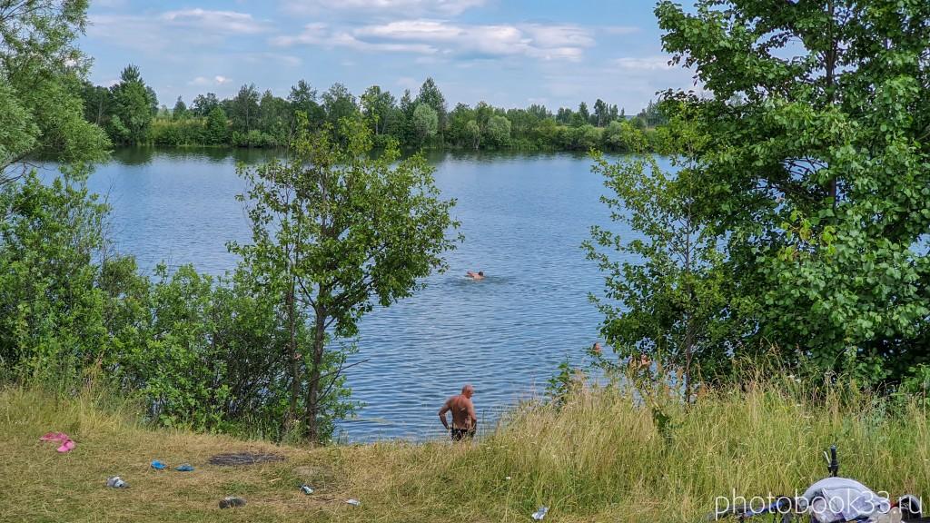 63 Пляж на Урвановском озере