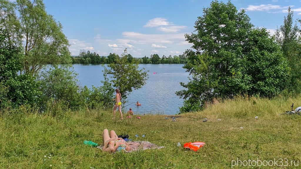 64 Пляж на Урвановском озере