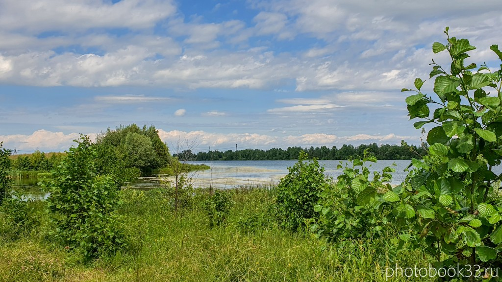 65 Берег Урвановского озера в Урваново