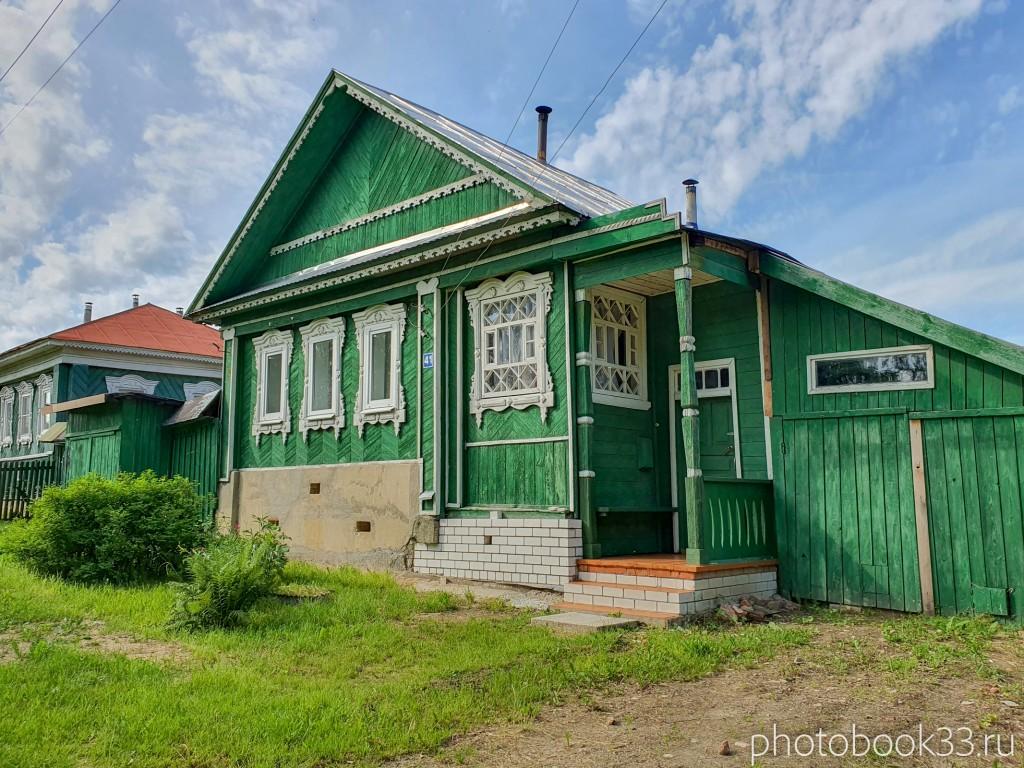 66 Деревянные дома в деревне Усад, Меленковский район