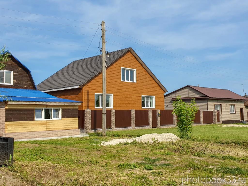 73 Новые дома в деревне Усад, Меленковский район