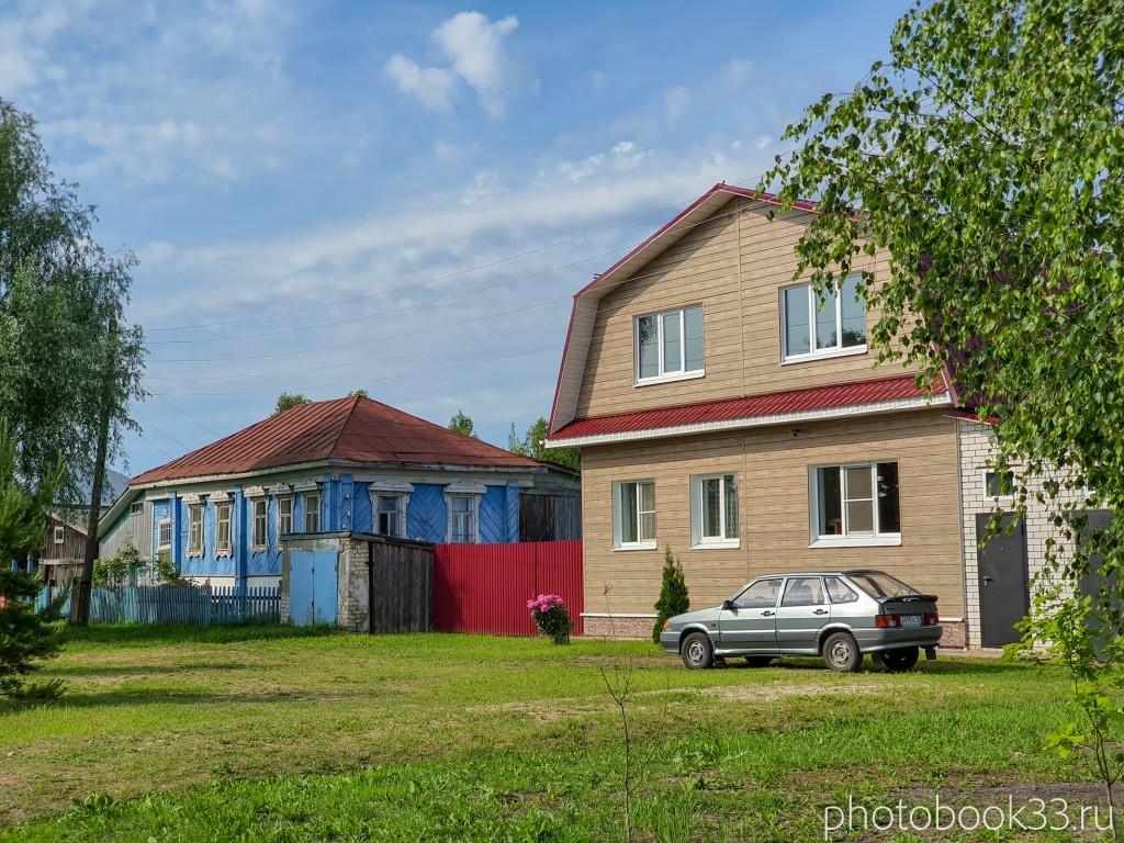 74 Новые дома в деревне Усад, Меленковский район