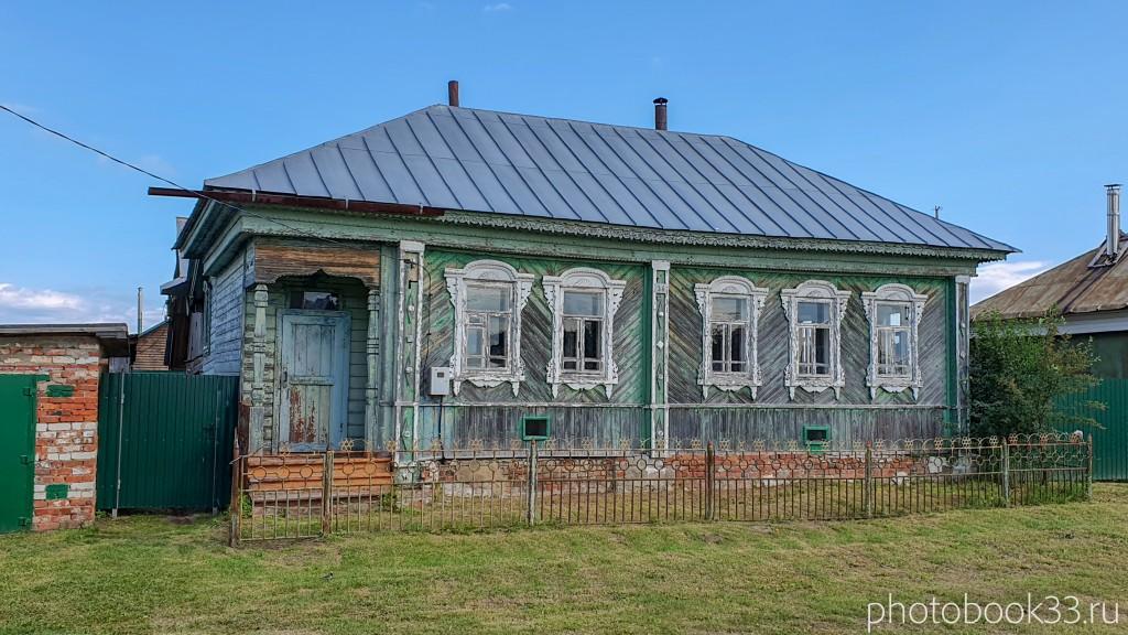 79 Деревянные дома села Урваново, Меленковский район