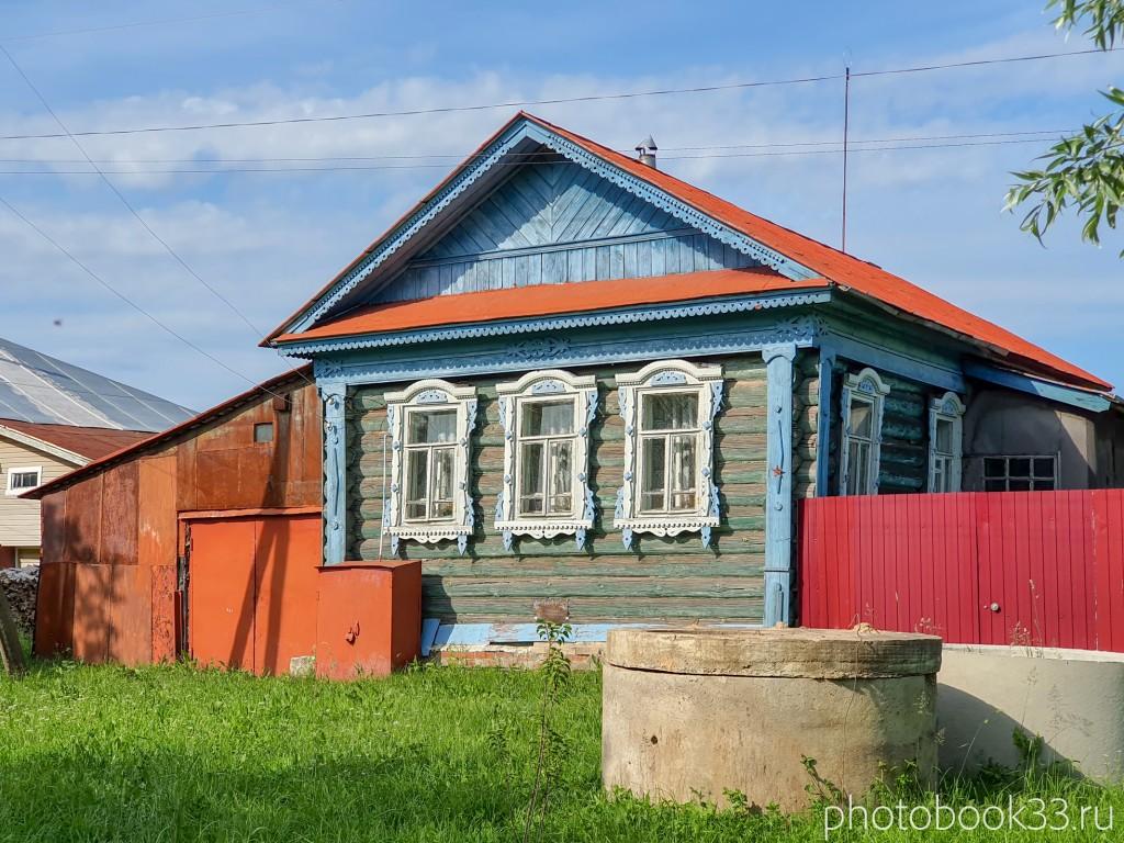 80 Деревянные дома в деревне Усад, Меленковский район