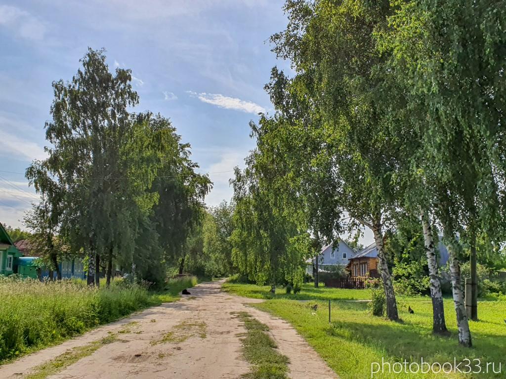 89 Улица в деревне Усад, Меленковский район