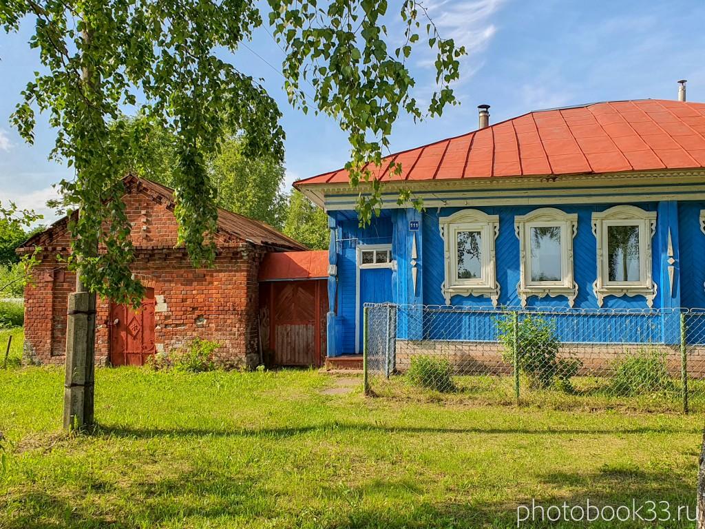 92 Амбар в деревне Усад, Меленковский район