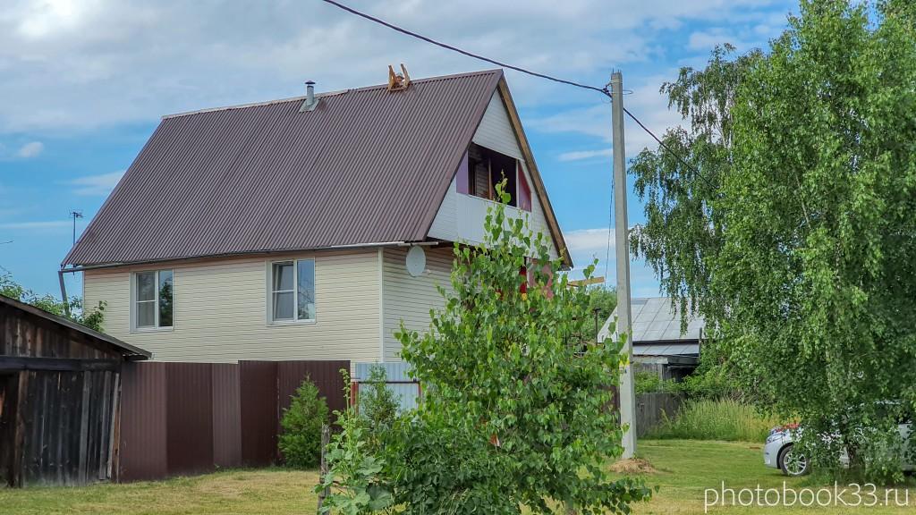 92 Обшитый сайдингом деревянный дом в селе Урваново