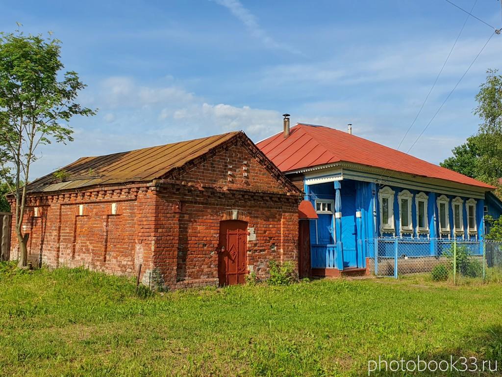 93 Амбар в деревне Усад, Меленковский район