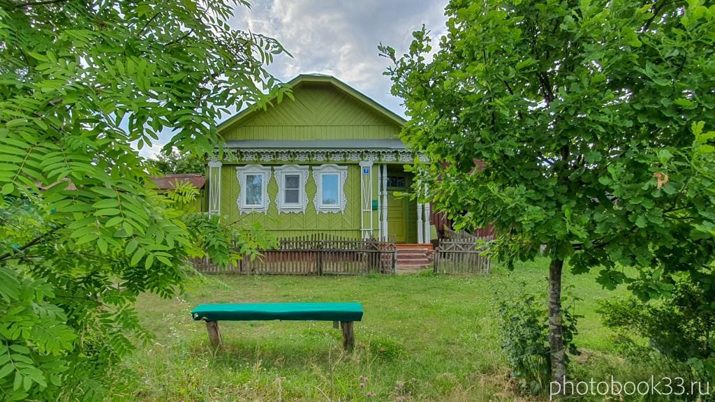 98 Деревянные дома села Урваново, Меленковский район