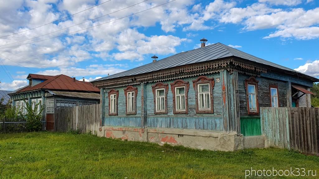 15 Деревянный дом в селе Лазарево, Муромский район