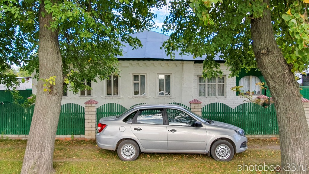 21 Кирпичный одноэтажный дом в селе Лазарево, Муромский район