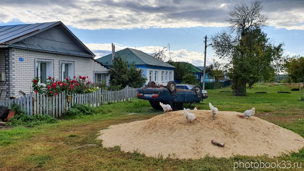 30 Разведение куриц в с. Лазарево, Муромский район