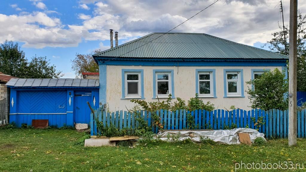 34 Кирпичный одноэтажный дом в с. Лазарево, Муромский район