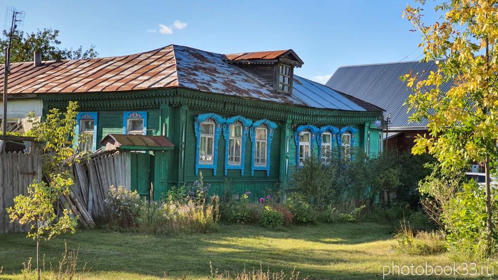 52 Деревянный дом в с. Лазарево, Муромский район